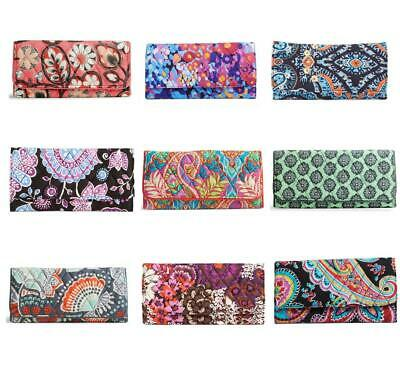 Vera Bradley NWT Trifold Wallet Organizer Choice of 7 Popular Retired Patterns