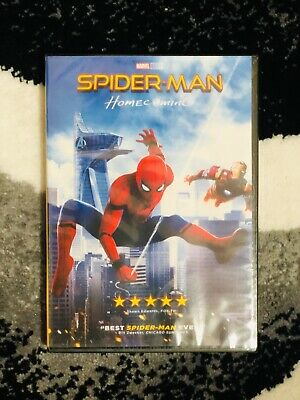 SPIDERMAN HOMECOMING (DVD, 2017)   Bran New & Sealed w/ Free Shipping