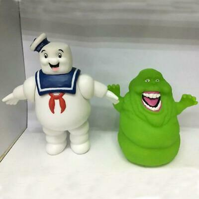 "6"" Ghostbusters Marshmallow Man Stay Puft Plush Vintage Ghost Figure Model"