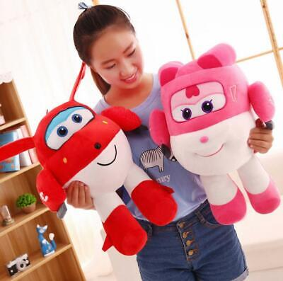 20-50 cm Super Wings TV Animation Plush Soft Toy Doll Stuffed Toys Kids Gift