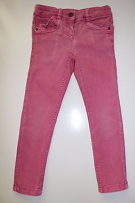 Next- Faded Pink Soft Elastic Cotton Slim Skinny Jeans- Girls 6 Years - 116 Cm
