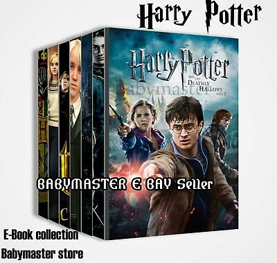 Harry Potter E- book series with Master Resell Certificate Right