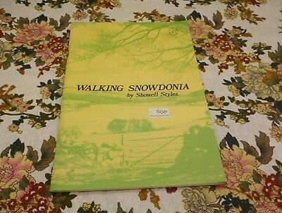 Walking Snowdonia by Showroom Styles published 1975