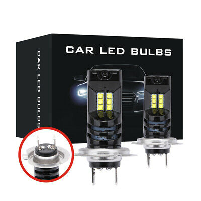 H7 110W 30000Lm LED Car Headlights Conversion Globes Canbus Bulbs Beam:6000K Kit