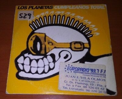 Los Planetas-Cumpleaños Total,Cd,Single Spain 1998