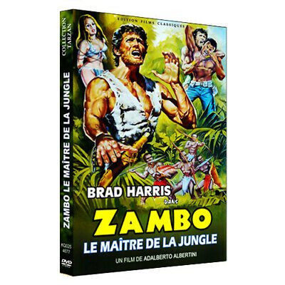 ZAMBO le Maitre de la Jungle avec Brad Harris (VF) (Tarzan, jungle)