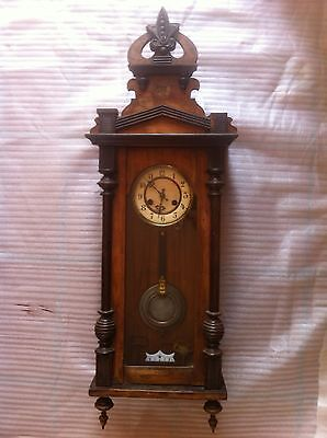 Vienna Wall Clock. Antique.German. Super Rare. In great condition.