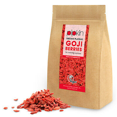 Pipkin Goji Berries Berry Wolfberry Sun Dried Fruit Natural Superfood 500g Pouch