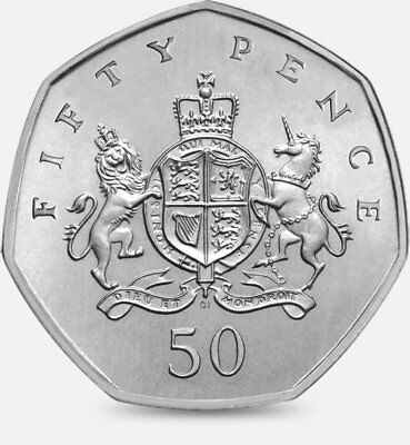 Christopher Ironside 50P Coin - Very Collectable Fifty Pence Piece