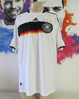 Germany 2008-09 home Shirt Adidas soccer jersey size L EURO2008