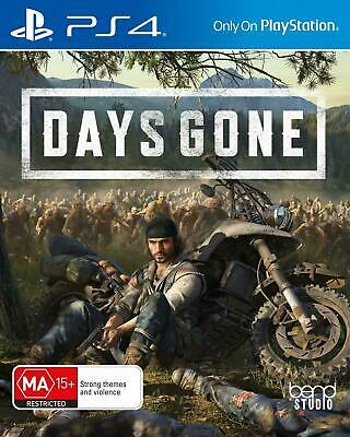 Days Gone New DVD PS4 (Game Brand New & Sealed) FAST DELIVERY FREE POSTAGE