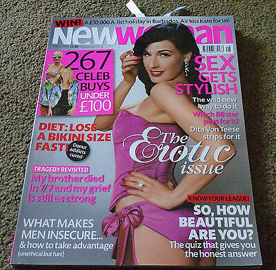 Dita Von Teese Burlesque UK Magazine