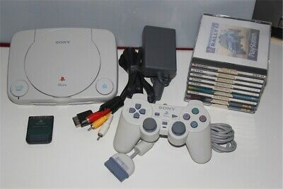 Console SONY PS ONE LEGGE TUTTO PSX PS1 PSone memory 4 giochi Playstation 1 I