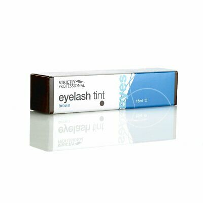 Strictly Professional Eyelash Eyebrow Dye Tint Brown Eye Lash Tinting 15ml