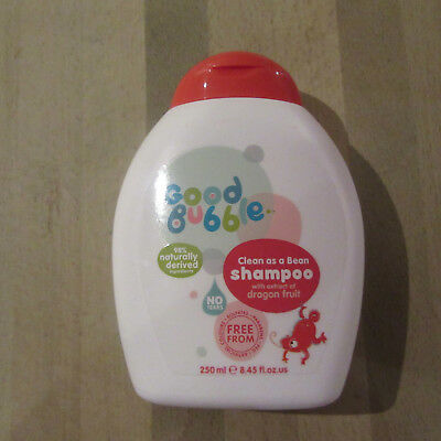 Good Bubble - Clean As A Bean SHAMPOO with Dragon Fruit Extract - 250ML.