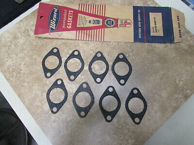 NORS 1937-48 Ford V8 Flathead Exhaust Manifold Gasket Set