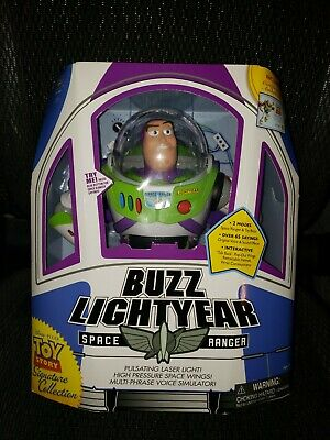Toy Story Disney Pixar Buzz Lightyear Signature Collection Rare Opened
