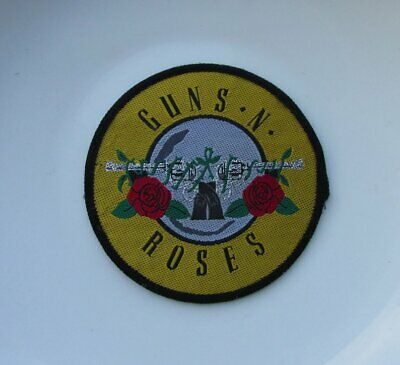 GUNS N ROSES VINTAGE SEW ON PATCH FROM THE 1980's PARADISE CITY