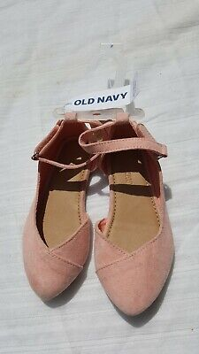 a56350af329a NEW Old Navy Toddler Girl Ballet Flats Size 7 ( baby shoes 7c ) pink suede