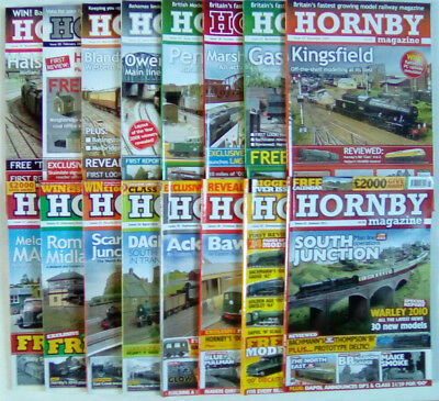 Hornby Magazine Issue Numbers 18 - 125 December 2008 - November 2017 Select
