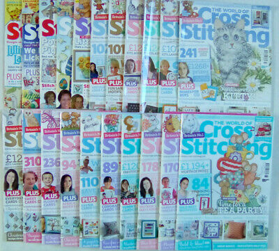 The World of Cross Stitching Magazine Number 99 - 267 Select Any Issue
