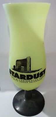 Stardust Casino Las Vegas, Nevada Plastic Logo Yellow Cup Great For Collection!