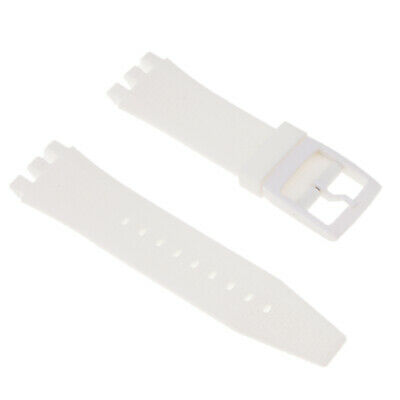 Rubber Silicon Watch Band 22mm Wristwatch Strap Replacement with Tool Set