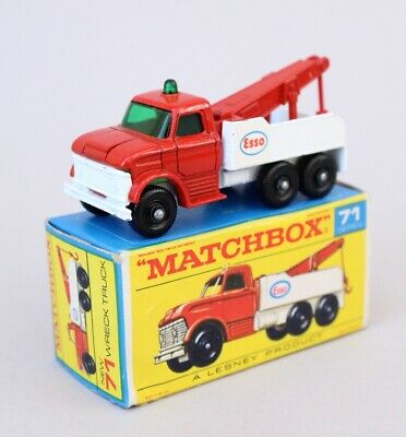 Matchbox 71c Ford Heavy Wreck Truck Stickers Mb-71c Special Buy Toy Parts