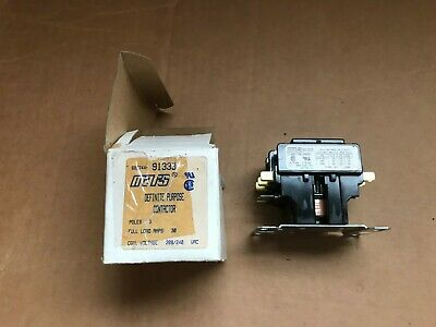 Mars 91333 208 / 240 VAC Contactor Relay Triple 3 Pole 30 Amp -- NEW IN BOX