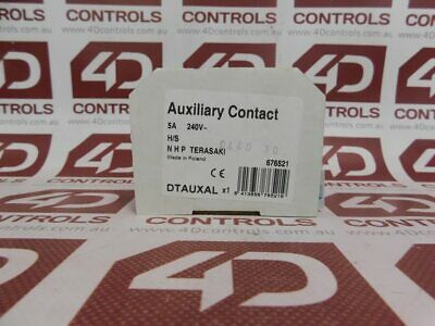 Terasaki 676521 Auxiliary Contact 5A 240V - New Surplus Open