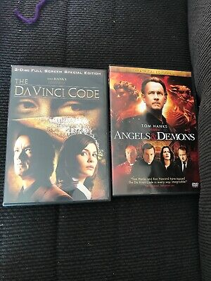 The Da Vinci Code & Angels And Demons Dvd's