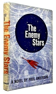 The Enemy Stars by Poul Anderson Carl Sagan Cosmos Tau Zero Space RARE HARDCOVER