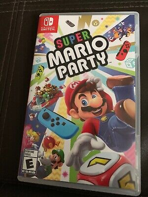 Mario Party 10 Case Only. Mint Conditions Check Pictures Below