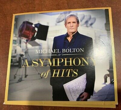 CD Michael Bolton - A Symphony Of Hits 2019 Fast  FREE Shipping*Hits w/Orchestra