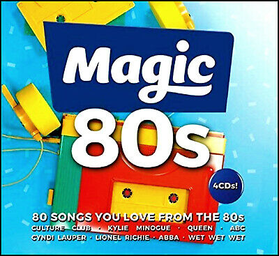 80 Greatest Hits of the EIGHTIES * New 4-CD Boxset * All Original 80's Hits *NEW