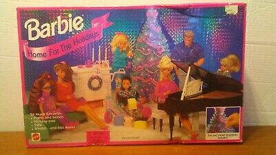 '94 Home for the Holidays Barbie Arcotoys Mattel 67116 Vintage Retro Classic 90s