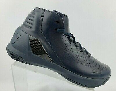 f8ef10fd558c UA Curry 3 Lux Limited Edition Leather Basketball Shoes 1299661-997 US Mens  12