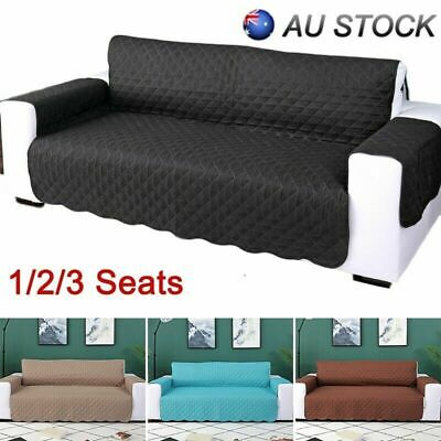 1/2/3 Seater Anti-Slip Sofa Couch Recliner Chair For Pet Kid Protector Cover New