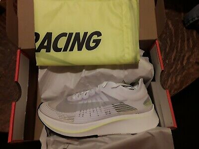 a3460f294e3d NIKE ZOOM FLY SP Womens Running Shoe White Grey Green AJ8229-107 NEW ...