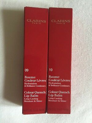 Clarins Colour Quench Lip Balm/Shine 15 Ml. 10 Delhi Or 9 Pink Jaipur