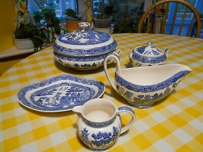 Wedgwood Blue Willow-various