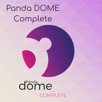 Panda Global Protection/ Dome Complete 2019 Unlimited Devices 1 Year License UK