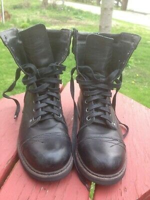 f8570cfcf5c DIESEL MEN'S CASSIDY Brown Leather Military Combat Boots EU 47 US 13 ...