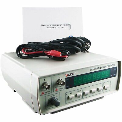 Victor Precision Frequency Counter Radio Meter 0.01Hz ~ 50MHz / 50MHz ~ 2.4GHz