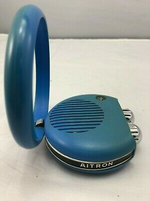 Retro AITRON Mini Handheld 'Magic Ring' Transistor Radio