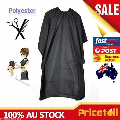2x OZ Barber Gown Cloth Hair Cutting Hairdressing Cape Nylon Styling Pro Salon