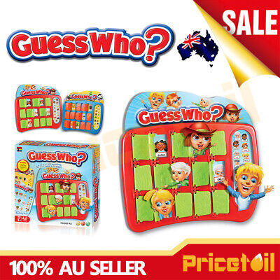 OZ Guess Who Guessing Board Memory Game Family Fun Kids Educational Gift Toy