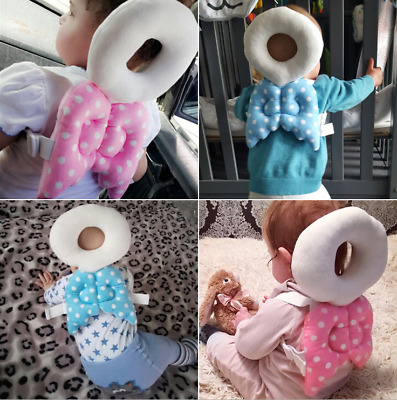 Infant Baby Walking Head Back Protection Protector Safety Pad Harness Pillow Pad