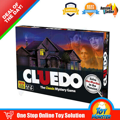 New Large Version Cluedo Clue Family Brain Board Party Classic Mystery Game