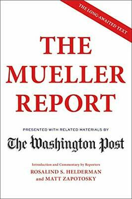 The Mueller Report by The Washington Post Paperback 2019 New Free Shipping US